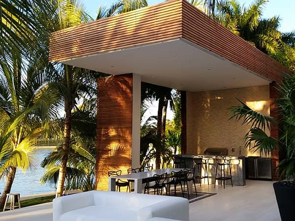 Luxury Carpentry Outdoor Features Service Miami, FL